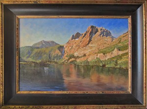 Sliver Lake, original oil painting by Robert Vogel