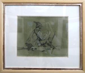 Karl Yens, self-portrait